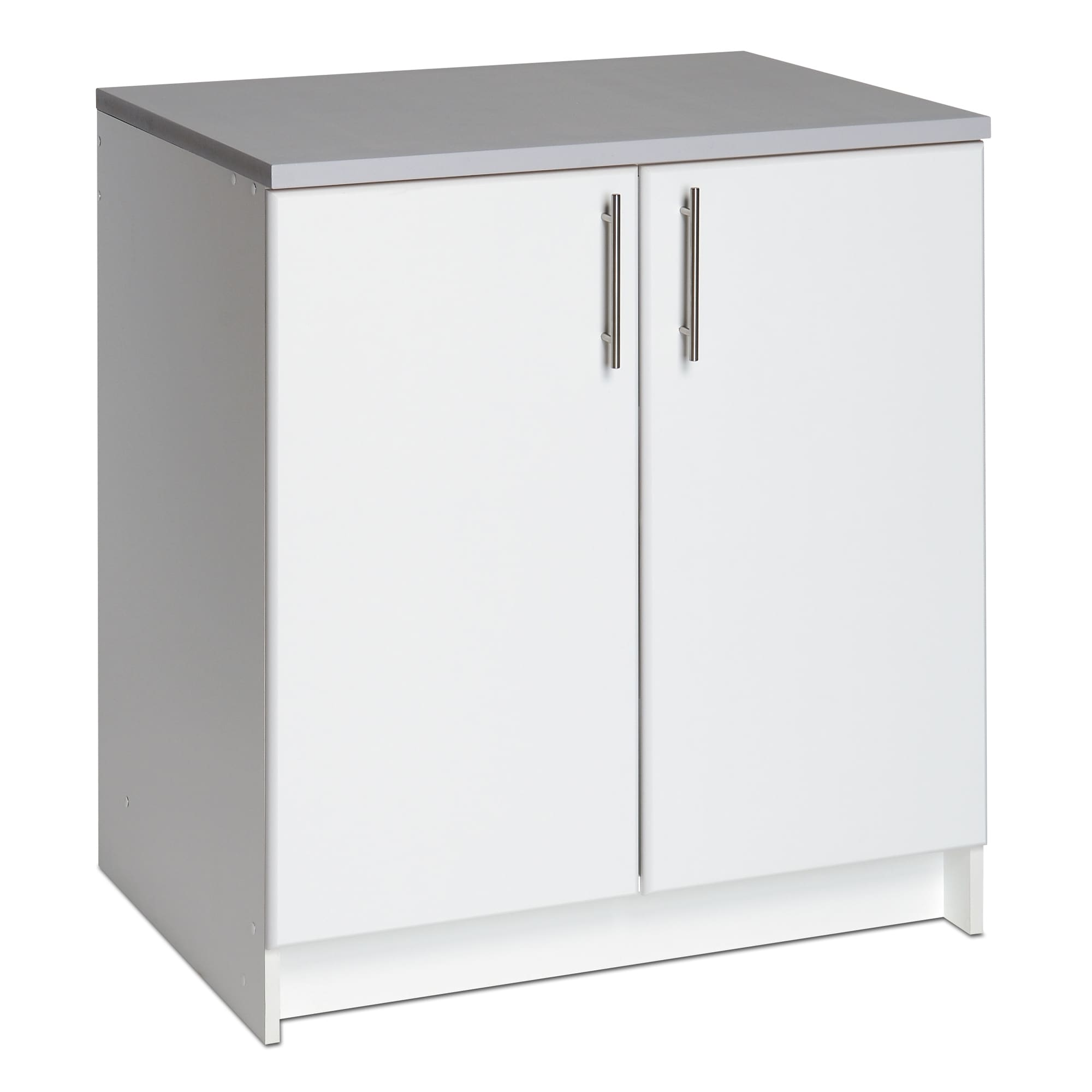 Winslow White 32 Inch Elite Base Cabinet With Two Doors