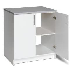 Winslow White 32-inch Elite Base Cabinet with Two Doors