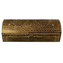 Wood Embossed Keepsake Box (India)