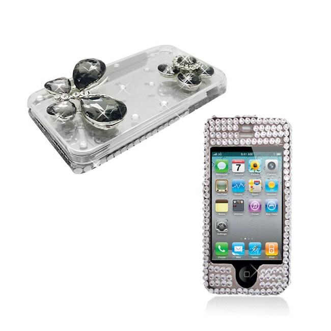 Apple iPhone 4/4S 3D Sparkling Crystal Designer Case