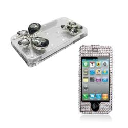 Apple iPhone 4/4S 3D Sparkling Crystal Designer Case