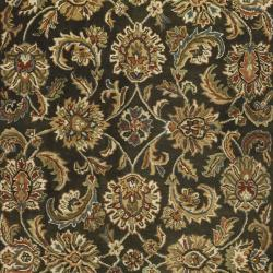 Safavieh Handmade Classic Dark Olive/ Red Wool Rug (7'6 x 9'6)