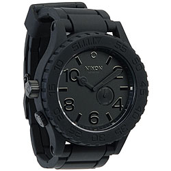 Nixon Men's '51-30' Silicone Strap Watch