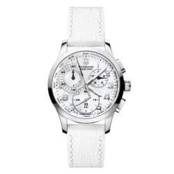 Victorinox Swiss Army Women's Alliance Mother of Pearl Chronograph Watch