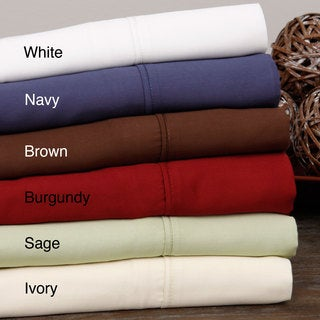 Brielle 100-percent Bamboo Rayon Sateen 300 Thread Count Sheet Set