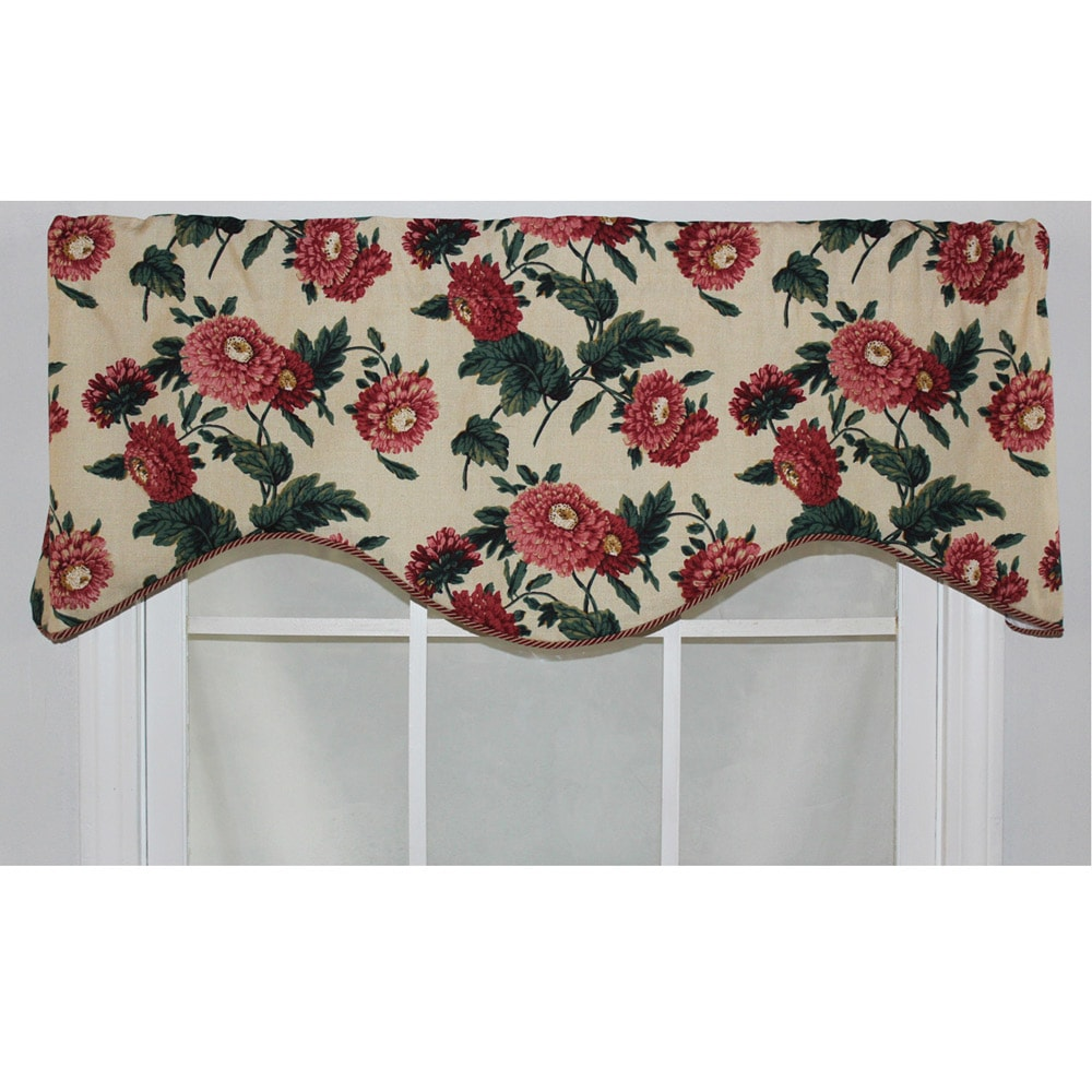 RLF Home Butter Cotton 17-inch Ennis Cornice Window Valance at Sears.com
