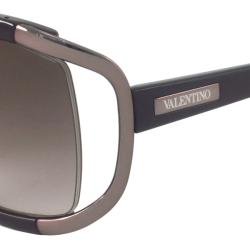 Valentino Women's VAL5693 Oversize Rectangular Sunglasses