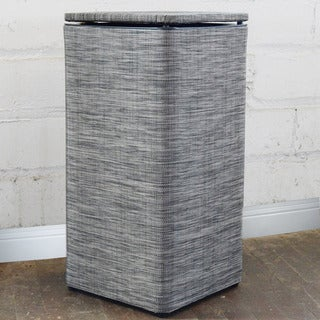 Black/ Silver Cambria Apartment Hamper