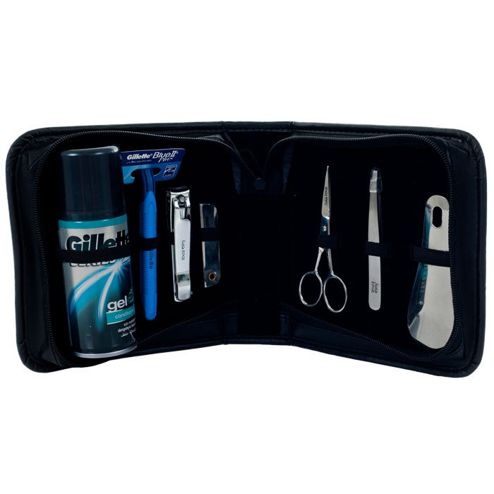 Trademark Home Men's 8-piece Manicure and Shave Set