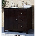 Granite Top 36 inch Single Sink Bathroom Vanity