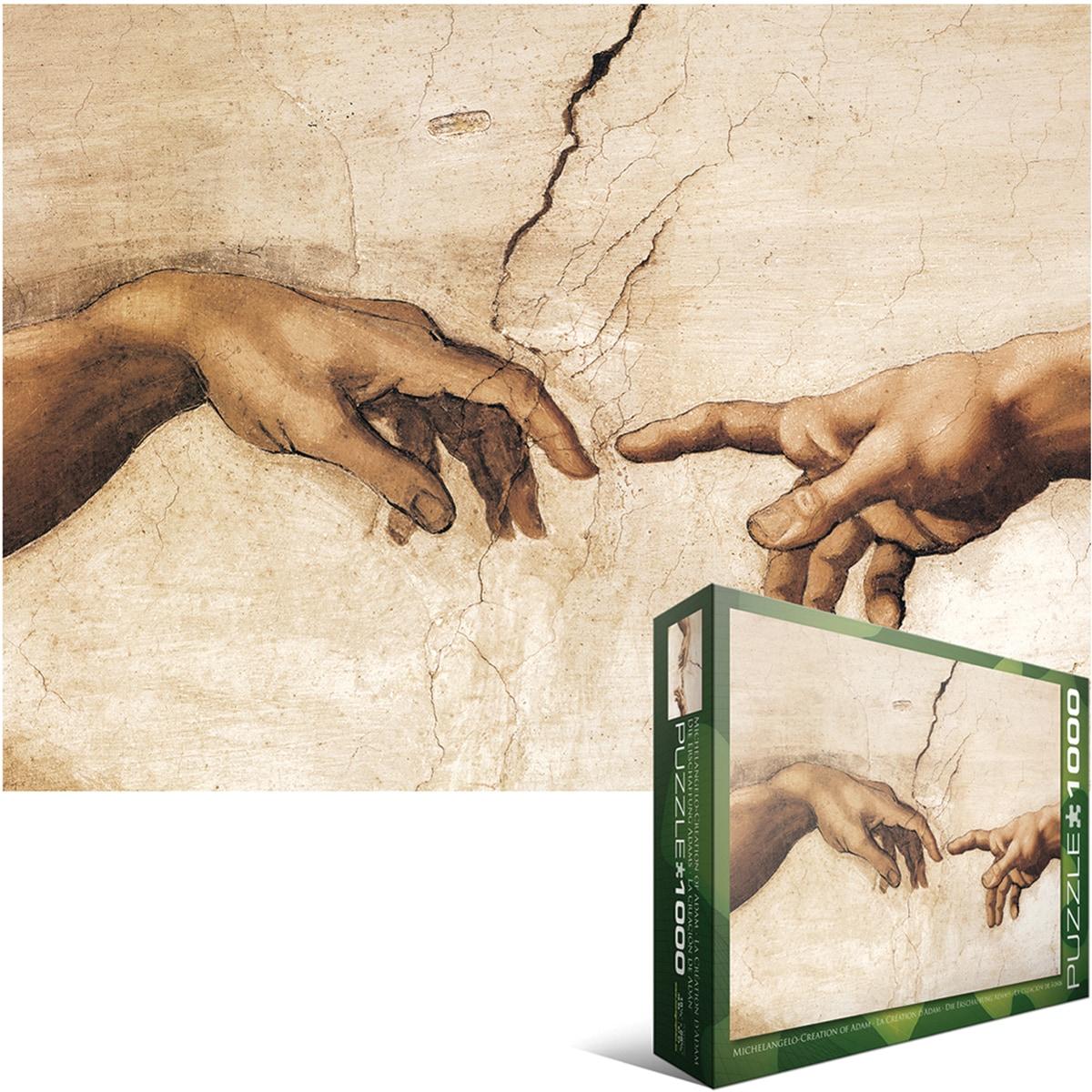 Jigsaw Puzzle 1000 Pieces -Michelangelo - Creation-det