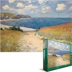 Jigsaw Puzzle 1000 Pieces -Monet - Chemin dans les Bles a Pourville