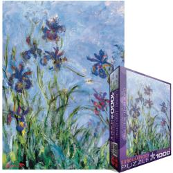 Jigsaw Puzzle 1000 Pieces -Monet - Irises, C. 1918-25 (detail)