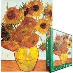 Jigsaw Puzzle 1000 Pieces -Van Gogh - Twelve Sunflowers