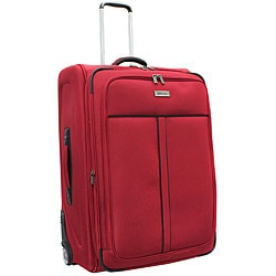 Kenneth Cole Reaction Front Row Red 29-inch Expandable Wheeled Upright Luggage