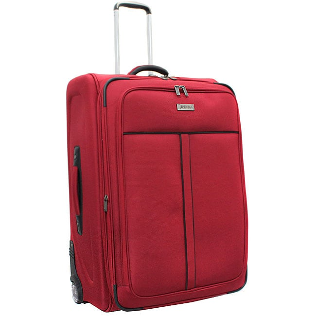 Kenneth Cole Reaction Front Row Red 25-inch Expandable Suiter Upright