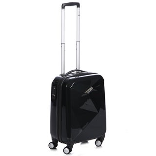 Delsey Helium Karat 22-inch Black Carry-on Hardside Spinner Upright