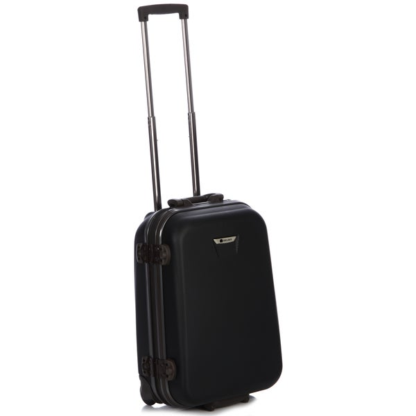 Delsey Meridian Black 21-inch Carry-on Hardside Suiter Upright