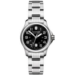 Victorinox Swiss Army Women's Officer's XS Black Dial Watch
