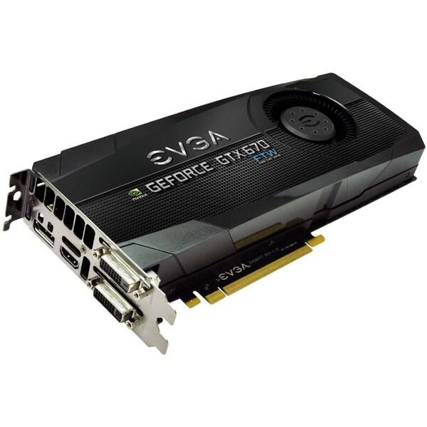 EVGA GeForce GTX 670 Graphic Card - 1.01 GHz Core - 2 GB GDDR5 - PCI