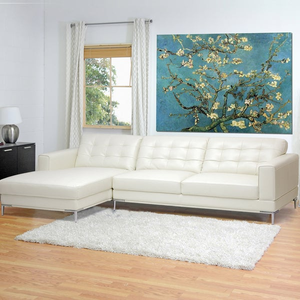 Genuine Leather Sectional Sofa Canada: Leather Sectional Sofa