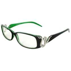 MLC Eyewear Men's PB828CL-BKGNCL Black/Green Clear Sunglasses