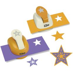Silhouettes & Shadows Lever Punch Set 2/Pkg-Star