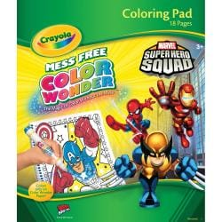 Color Wonder Coloring Pad-Super Hero Squad