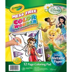 Color Wonder Coloring Pad-Disney Fairies