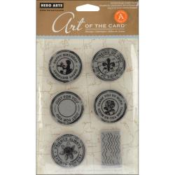 Hero Arts Cling Stamps-Untitled Postmark