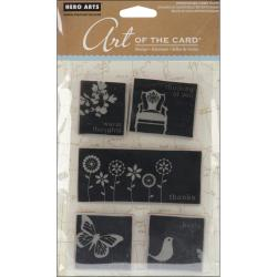 Hero Arts Cling Stamps-Untitled Love