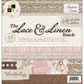 Lace & Linen Paper Stack 12