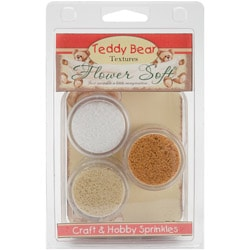 Flower Soft Clam Kits 3/Pkg-Teddy Bear
