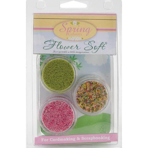 Flower Soft Clam Kits 3/Pkg-Spring