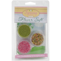 Flower Soft Clam Kits 3/Pkg-Spring