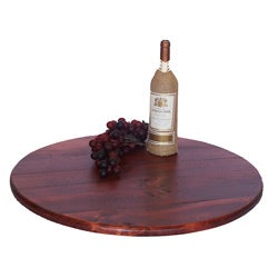 2-Day Designs 18-inch Pine Lazy Susan