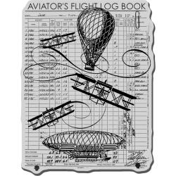 Stampendous Cling Rubber Stamp-Flying Machines