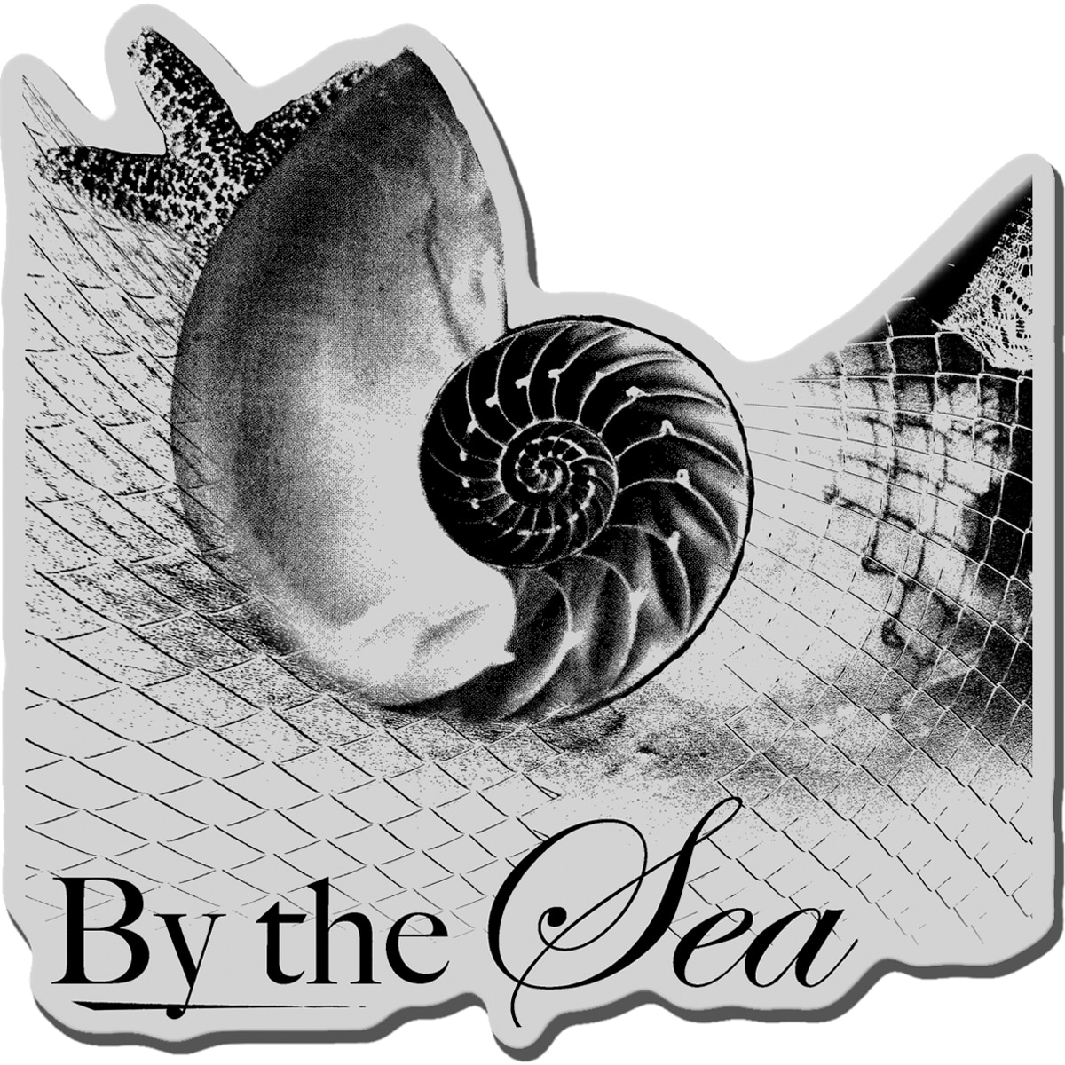 Stampendous Cling Rubber Stamp-By The Sea