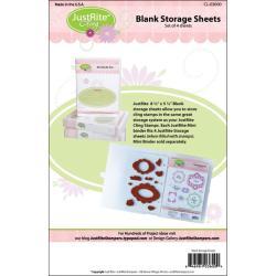 JustRite Stampers Mini Storage Panels 4/pkg