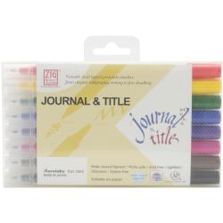 Zig Memory System Journal & Title 8 Color Marker Set