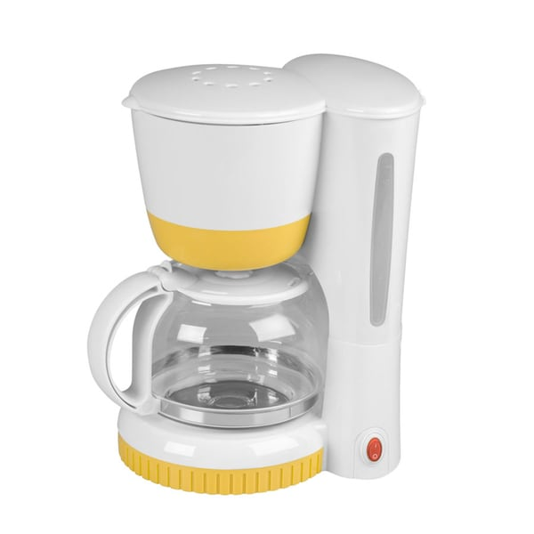 Refurbished Kalorik Yellow 8 Cup Coffee Maker