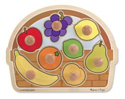 Melissa & Doug Large Jumbo Knob Fruit Basket
