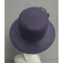 Swan Women's Lavender Braided Floppy Bucket Hat