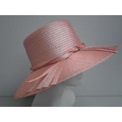 Swan Women's Metallic Peach Floppy Hat