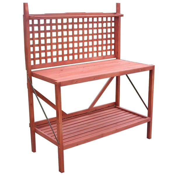 Folding Potting Bench