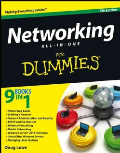 Networking All-in-One for Dummies (Paperback)