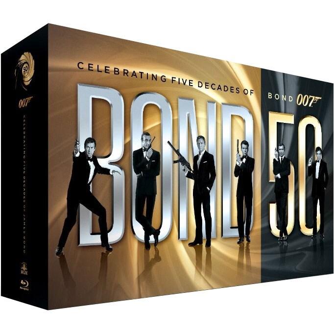 Bond 50: Celebrating Five Decades of Bond 007 (Blu-ray)