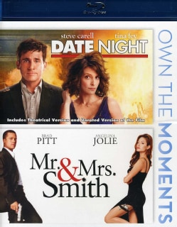 Date Night/Mr. & Mrs. Smith (Blu-ray Disc)