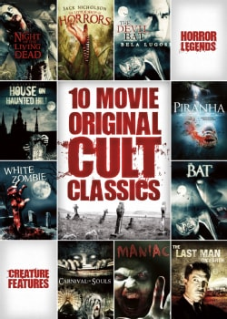 10-Film Horror Cult Classics Collection (DVD)