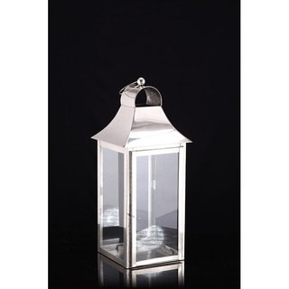 Square Medium Candle Lantern Lamp